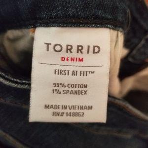 torrid Jeans - Torrid Slim Boot Jean's Size 12 Tall